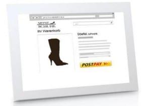 Mit Postpay als Zahlungsmethode sicher in vielen Shops bestellen