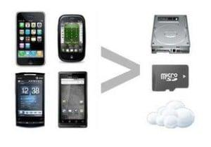 backup smartphone